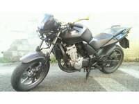 Honda CBF 500 A6 abs Black matt predator frontHeadLamp swap for car or bigger bike