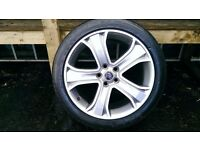 ALLOYS X 4 OF 20 INCH GENUINE RANGEROVER/DISCOVERY/AUTOBIOGRAPHY UNMARKED IN EXCELLENT CONDITION