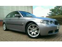 2004/04 BMW 318 Ti M SPORT COMPACT *FULL SERVICE HISTORY LOW MILEAGE IMMMACULATE golf audi vw seat