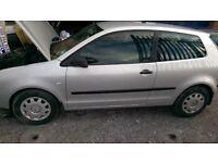 2004 Volkswagen Polo 1.2 Twist 3dr 108000 mileage, Petrol, Manual, 1 year Mot, clean car