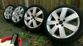 "Ford Focus 17"" MP3/TDCi Sport wheels + tyres 4x108"