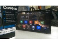 BNIB 6.95 2 DIN GPS LATEST ANDROID CAR STEREO*CD/DVD PLAYER**IPHONE&ANDROID MIRROR LINK**16GB MEMORY