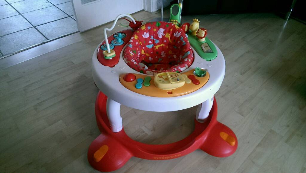 Mothercare baby walker + activity centre