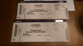 2 X TICKETS, THE WATERBOYS @ DE MONTFORT HALL, LEICESTER. SAT 12TH MAY