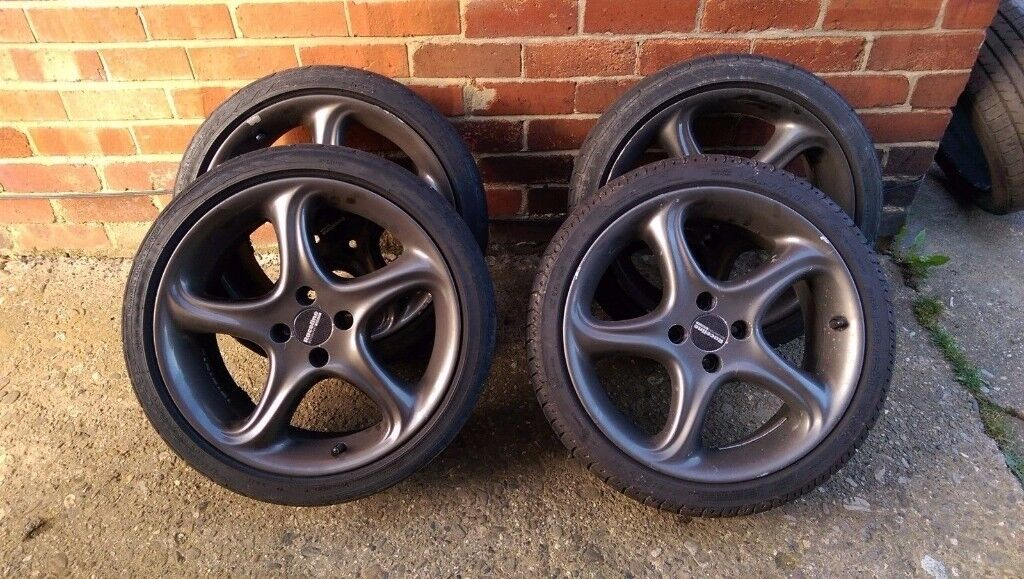 """Mullins 17"""" alloy wheels with 205/40 tyres 4x100"""