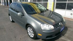 2007 VOLKSWAGEN RABBIT HATCHBACK, NO ACCIDENTS, CLEAN CARPROOF