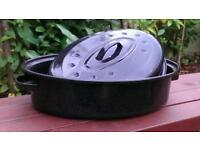 Roasting pot - Suitable for the ovens, barbeques, camping fires...the results are just amazing.