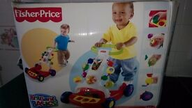 Pull and push baby walker