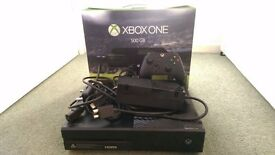 Xbox One Console & Wireless Controller with all cables + GAMES boxed, 500GB BLACK Fully Working