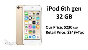 ipod touch 6th generation!! Brand New Sealed with Apple Warranty!!! Store Deal!!