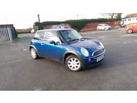 2004 Mini One 1.6 petrol low miles FSH lower insurance than mini cooper,fiesta,punto,polo,corsa