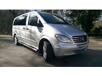 Mercedes Vito Dual liner 6 seats and tail gate 115CDI Long Auto Sport