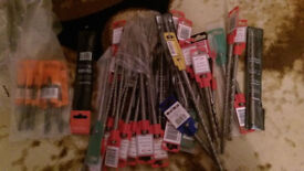 SDS DRILL BITS,,BRAND NEW,,,,,, size 5.5,6,7,8,10 brand new