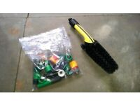BRAND NEW Karcher Wheel Brush & Hose/Attachments BUNDLE / Glasgow / FREE DELIVERY