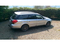 Subaru Outback 2003 requires replacement engine/rebuild. Good for parts or project.