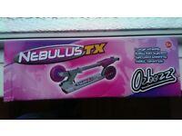 Nebulus TX pink scooter.