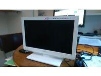 Toshiba 14 ins white TV