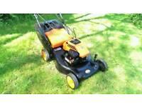 Flymo Petrol Lawnmower, Self drive, Briggs and Stratton engine MOWER GWO