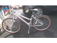 Carrera Vulcan Ladies bike, hardly used, excellent condition