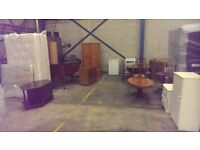 HOUSE CLEARANCE TABLE & CHAIRS, BED, WARDROBE, BEDSIDE, TABLES, SIDEBOARD FRIDGE COOKER ETC