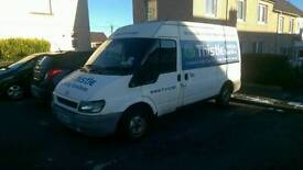 Ford transit very low miles years mot