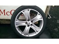 ALLOYS X 4 OF 20 INCH GENUINE RANGEROVER/DISCOVERY/AUTOBIOGRAPHY IN UNMARKED EXCELLENT CONDITION