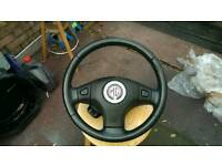 Mg zs+ rover 45 steering wheel