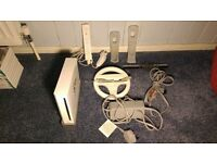 Nintendo Wii + Games and Accessories Bundle - Excellent Condition