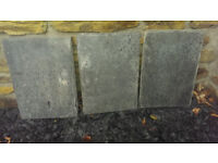 "Natural Welsh Slate Dark Blue Grey 350 x 250 mm ; 14"" x 10"""