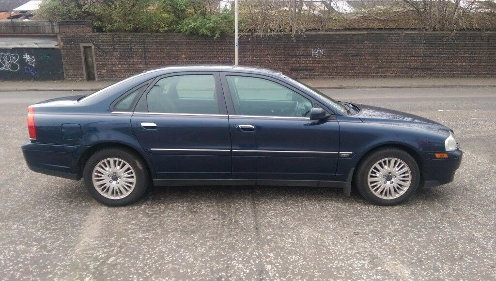 Volvo S80 2.4s saloon car Year's MOT 54pl