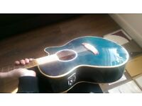Tanglewood Electro Acoustic TSF CE BL + Video