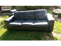 3 seater sofa and single arm chair