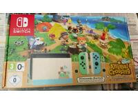 Nintendo Switch Animal Crossing New Horizons Edition, Brand New - Sealed