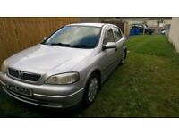 2002 silver vauxhall astra for sale