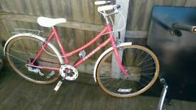 French Peugeot Monte carlo ladies bike! Great condition like new!! RRP £360