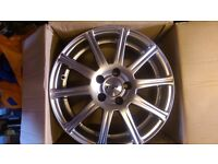 "TSW 15"" Alloy Wheels x 5 - Brand New in Box"
