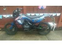 Super moto 125cc road legal motor bike / pit bike / bargain