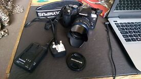 Olympus e-520 DSLR with 14-42mm lens