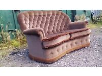 Chesterfield style 2seater sofa