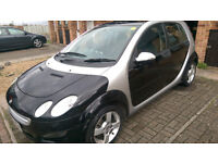 Smart ForFour 1.5L Petrol, Automatic, Low mileage, Great condition, 7 months MOT, Low Tax/Insurance