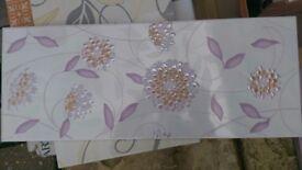 Ceramica White and violet Wall Bathroom Shower Tiles 50 cm x 20 cm . Total 22+1