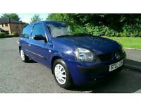 2003 RENAULT CLIO 1.2 * LOW MILEAGE / FULL YEAR MOT *