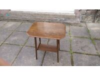 vintage small table retro and lightweight