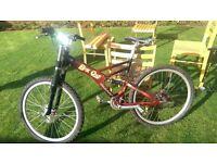 Freeride Giant mountain bike