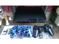 Ps3 console with 20 games