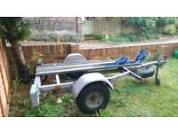 Trailertek motorcycle trailer
