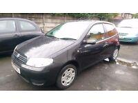 Fiat PUNTO 1.2 Black 12 months MOT Low Miles