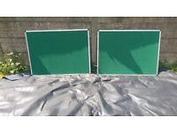 2 x 3ft x 2ft noticeboards