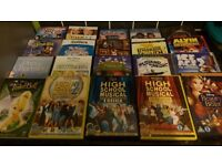 20 Kids DVDs including Disney, Christmas, Nickelodeon, BBC, classic films