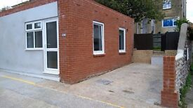 EASTBOURNE - FREEHOLD OFFICE/LIVING SPACE WITH PARKING AND GARDEN IN THE SOUGHT AFTER UPPERTON AREA